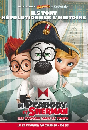 Cartaz As Aventuras de Peabody & Sherman