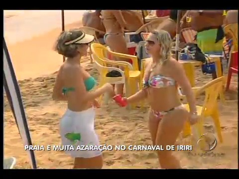 Praia e muita azaração no carnaval de Iriri | Folha Vitória