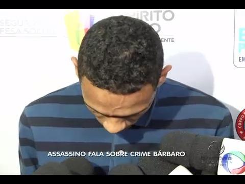 Acusado de degolar jovem fala sobre crime bárbaro | Folha Vitória