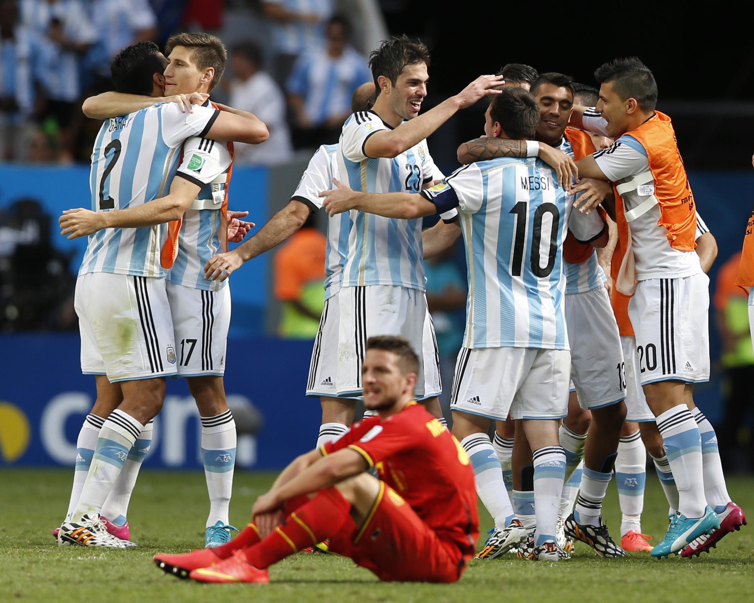 Argentina comemora vitória