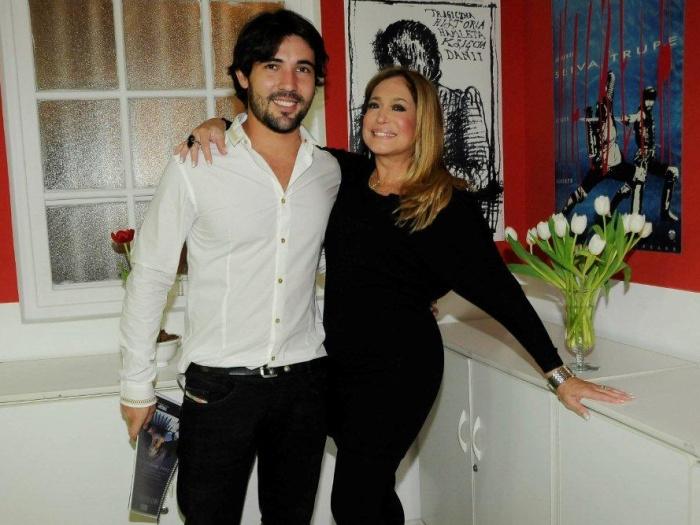 Susana Vieira termina relacionamento com Sandro Pedroso, de novo