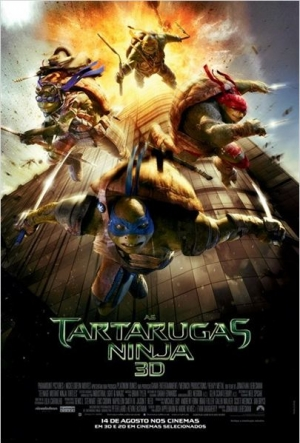 Cartaz As Tartarugas Ninjas