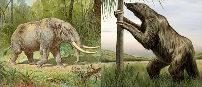 Resultado de imagem para mastodonte brasileiro