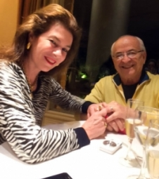 Hélio Dórea renova pedido de casamento