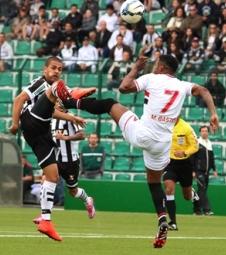 São Paulo busca 1 a 1 com Figueirense