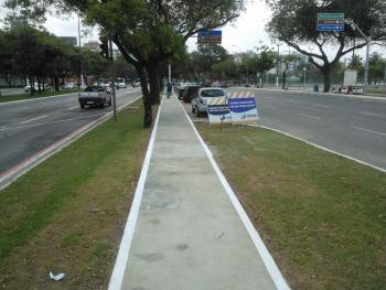 Praia do Canto, Ilha do Boi e Bento Ferreira têm calçadas e ...