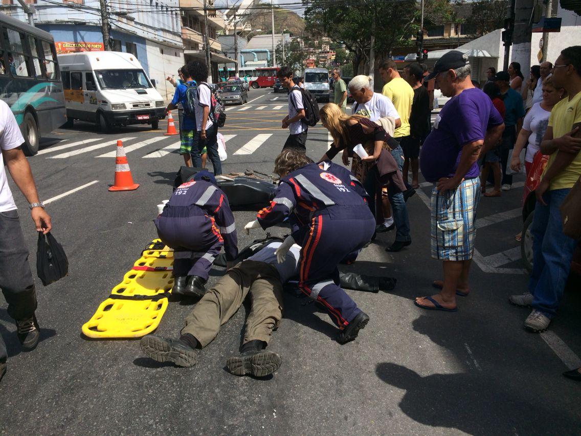 Imprudência é principal causa de acidentes em cruzamento no ...