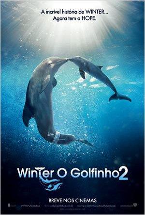 Cartaz Winter, O Golfinho 2
