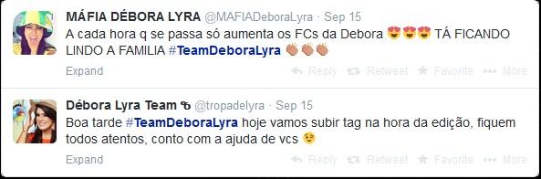 Internautas criam fã- clube para torcer pela capixaba Débora Lyra em