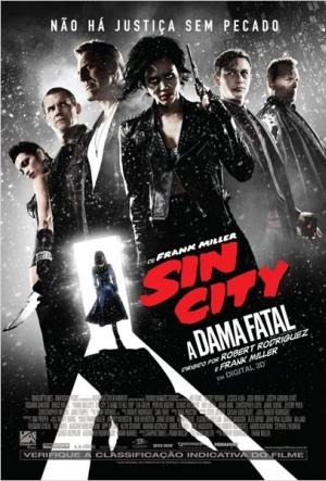 Cartaz Sin City 2: A Dama Fatal