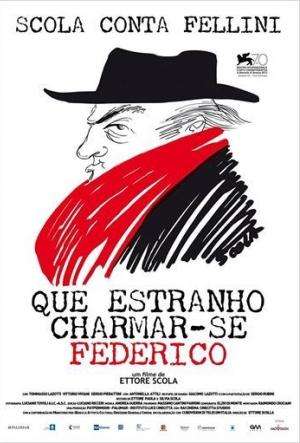 Cartaz Que Estranho Chamar-se Frederico