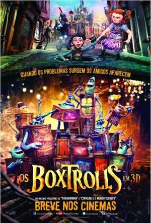 Cartaz Os Boxtrolls
