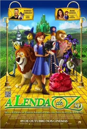 Cartaz A Lenda De Oz