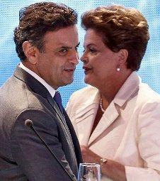 Pesquisa: Dilma e Aécio estão empatados