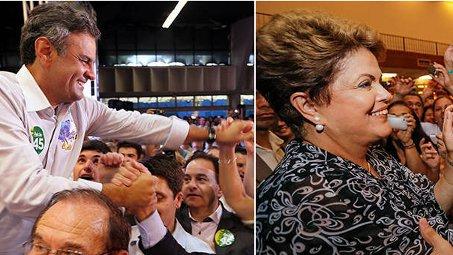Dilma Rousseff e Aécio Neves fazem acordo no TSE para acabar com ataques no horário eleitoral