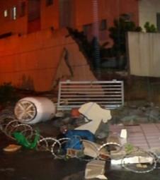 Homem morre após muro desabar na Serra