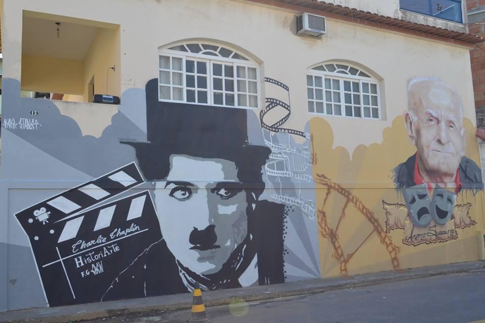Artistas ganham vida em grafite nos muros de bairros da Grande ...
