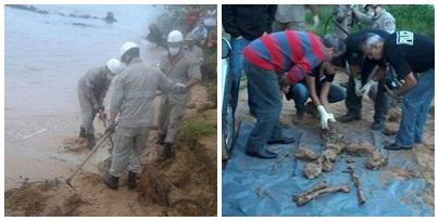 Ossada humana é encontrada na areia da praia em Aracruz | Folha ...