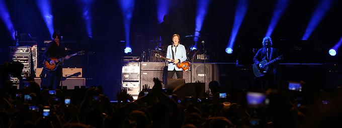 Paul McCartney faz show histórico no Espírito Santo