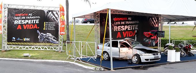 Ação do DETRAN alerta sobre acidentes de trânsito