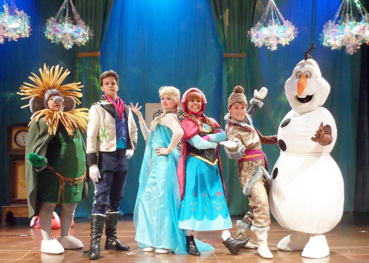 """Imagens Frozen Uma Aventura Congelante Cool musical """"frozen: uma aventura congelante"""" chega a vitória na"""