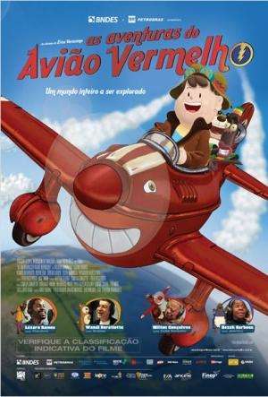 Cartaz As Aventuras Do Avião Vermelho