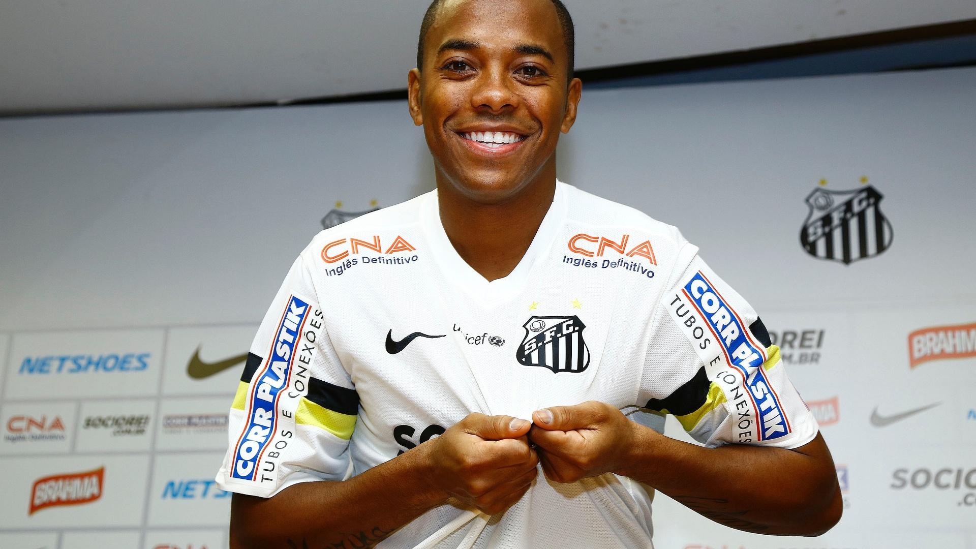 Nova diretoria do Santos não sabe se Robinho ficará no clube ...