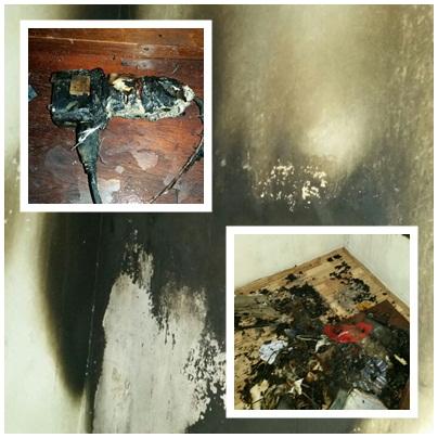 Curto-circuito em carregador de celular causa incêndio em Santa ...