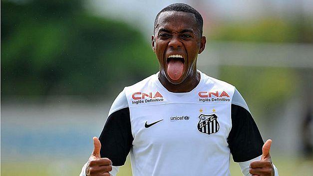Robinho rescinde com o Milan e fica livre para negociar com o Santos