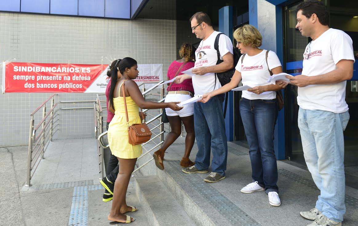 Foto: Fábio Vicentinni / Sindicato dos Bancários