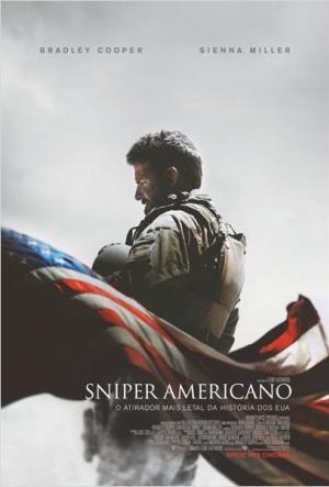Cartaz Sniper Americano