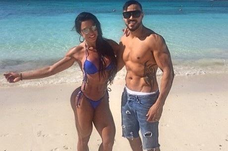 Nas Bahamas, Belo se declara para Gracyanne Barbosa   Folha ...