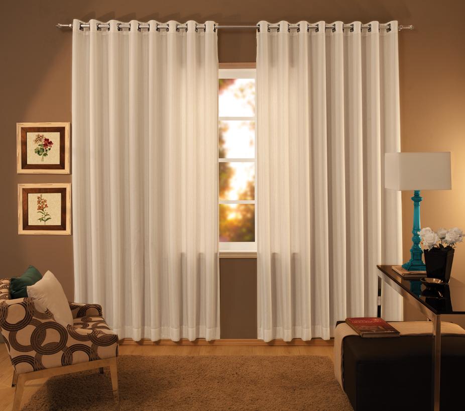 Decora o cortinas protegem e levam charme ao ambiente - Diferentes modelos de cortinas para sala ...