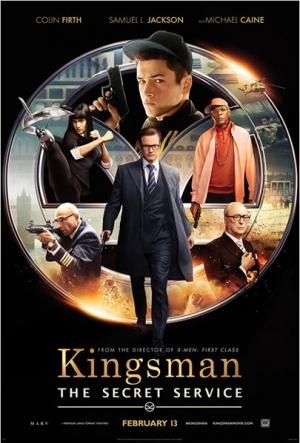 Cartaz Kingsman: Serviço Secreto