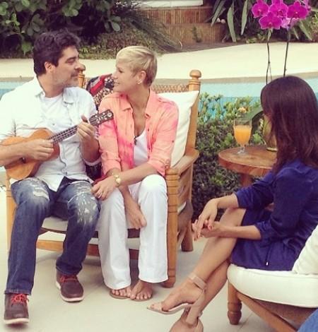 """Xuxa Meneghel vai mostrar sua casa no próximo """" Domingo ..."""