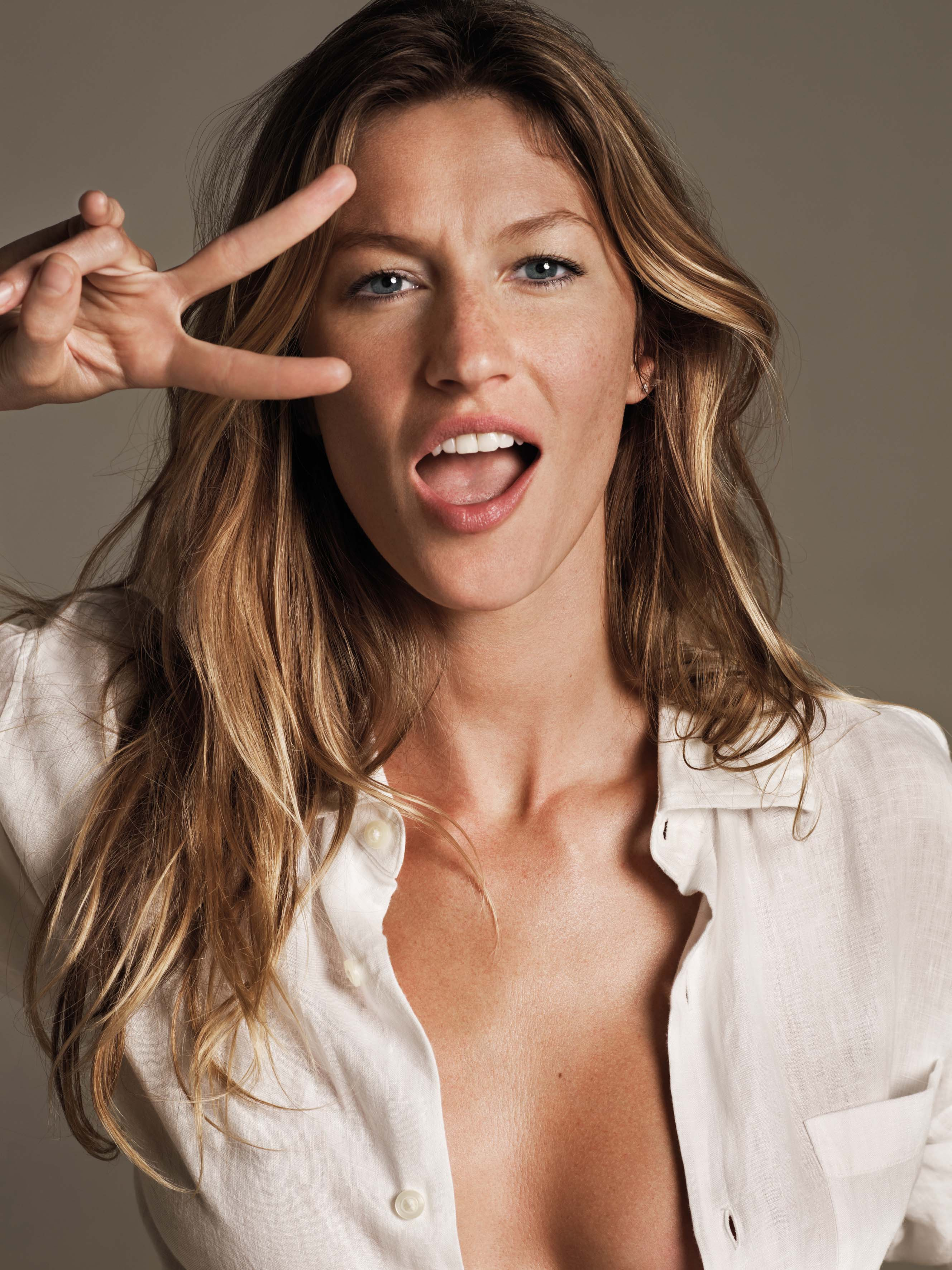 Gisele Bundchen Natural Hair | JustModel.in Gisele Bundchen