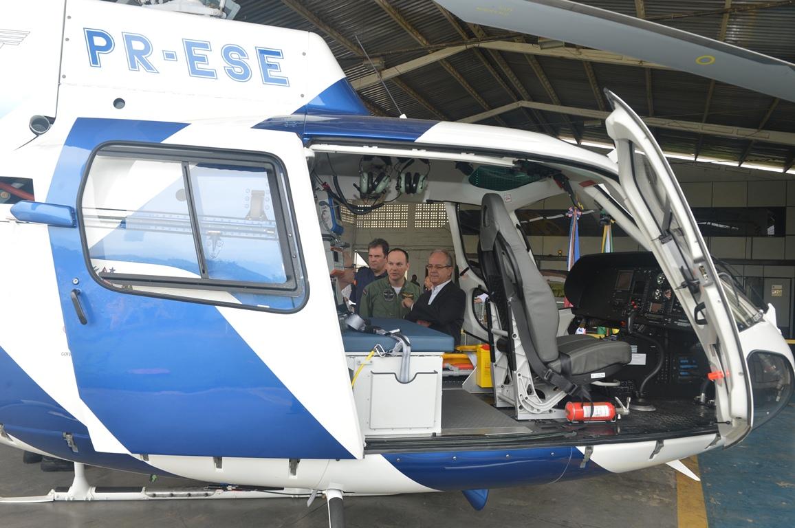 Samu 192 começa a fazer resgates com helicóptero | Folha Vitória