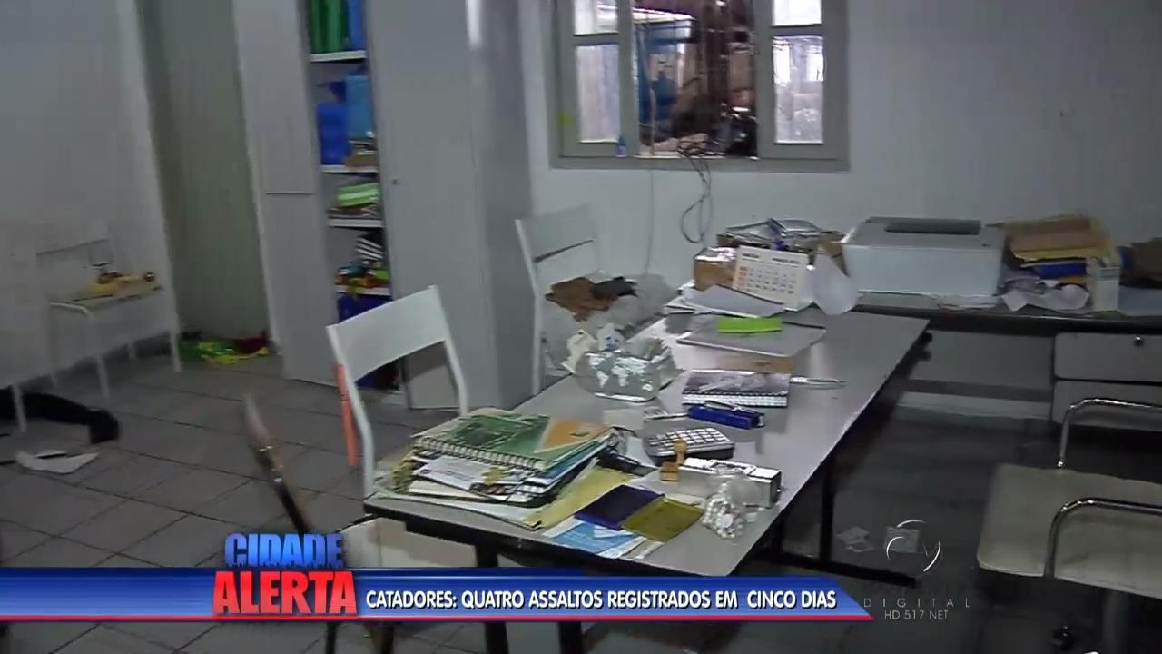 Catadores: quatro assaltos registrados em cinco dias | Folha Vitória