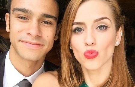 Sophia Abrahão se despede de novela ao lado de Sergio Malheiros ...