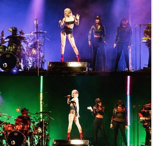 Ousada! Jessie J fica de calcinha e sutiã no palco do Rock in Rio USA