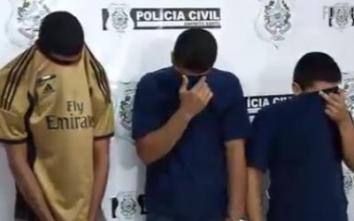 Três suspeitos de matar dono de bingo na Enseada do Suá são ...