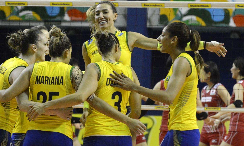 Seleção feminina de vôlei volta a vencer Japão no tie-break em ...
