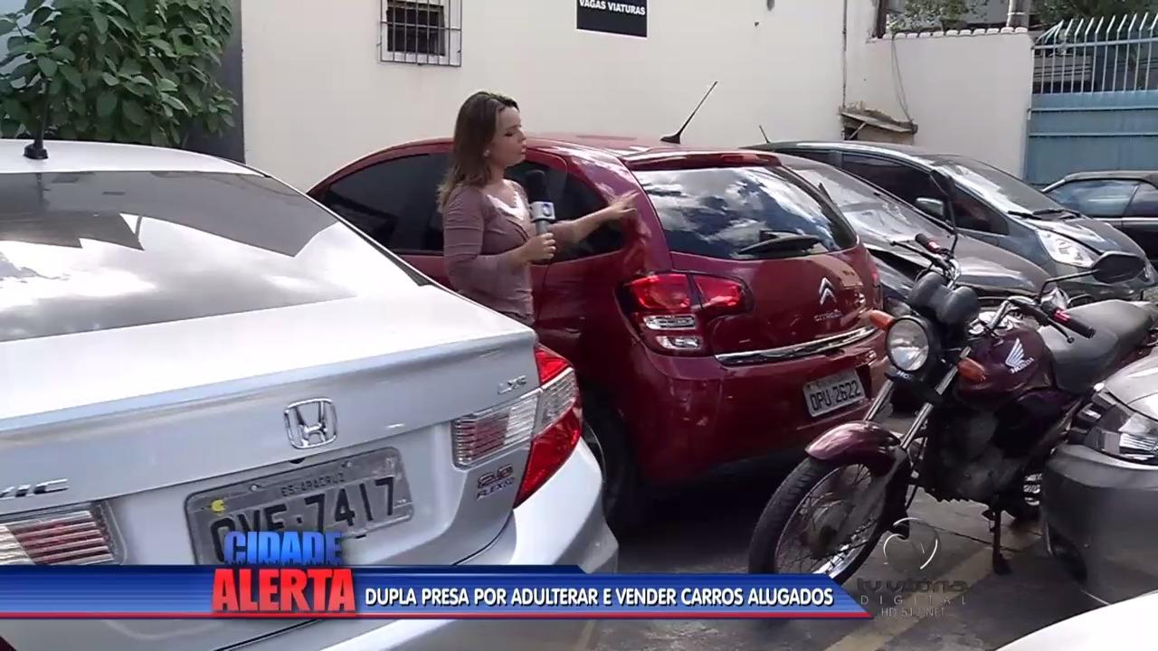 Dois homens são presos após alugar e adulterar veículos | Folha ...