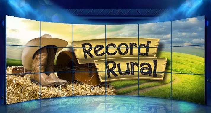 "Record define a estreia do novo programa, ""Record Rural"" 