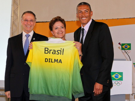 Com presença de Dilma Rousseff, COB apresenta novo mascote do ...