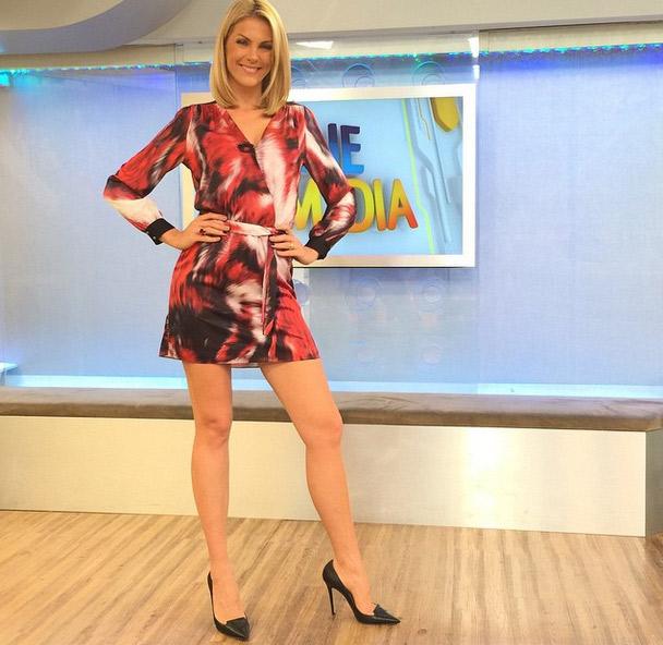 Ana Hickmann é sucesso entre anunciantes da Record | Folha Vitória