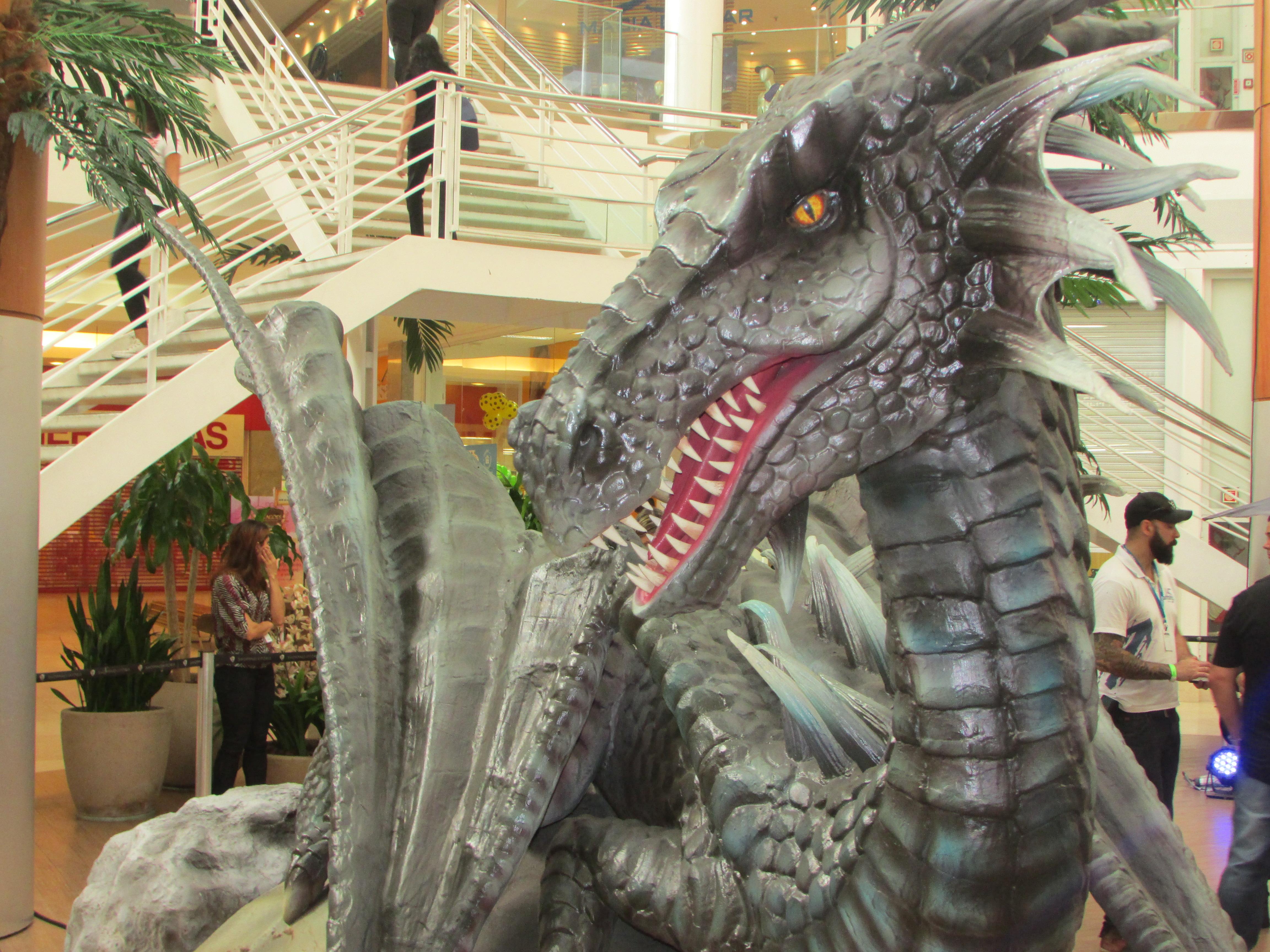 Exposição Internacional traz dragões de até 6 metros para Vitória ...