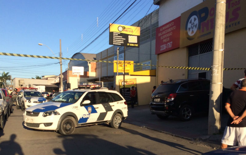 Homem vai comprar pneu e é executado dentro de loja na Serra ...