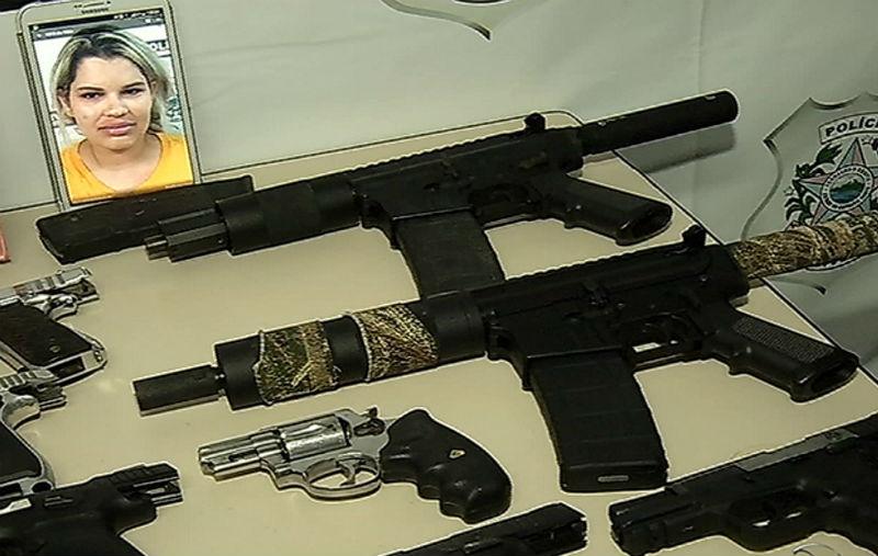 Polícia encontra armas do exército dos Estados Unidos em ...