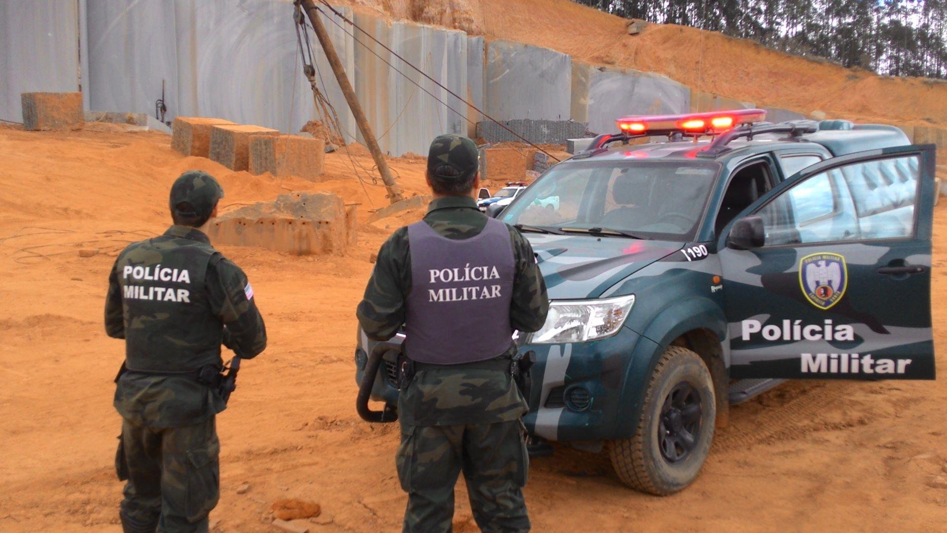 Exploração de granito em Baixo Guandu vira caso de polícia | Folha ...